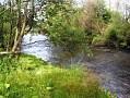 Rieka Hron pri chalupe